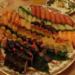 前夜祭 お寿司