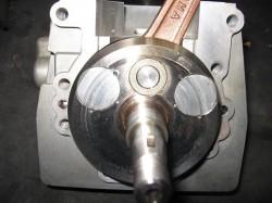 エンジンO/Hクランク仮組み、点検