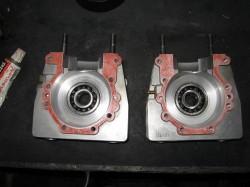 エンジンO/Hクランクケース液体ガスケット添付