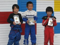 GT-2クラス表彰式