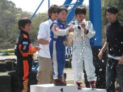 GT1クラス表彰式