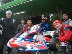 参加者のドライバー&メカニック