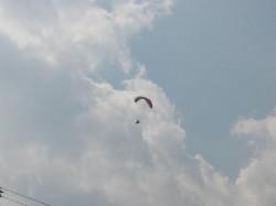 パラグライダー飛行