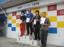 YAMAHA SSクラス表彰式2位入賞MITUKIくん2
